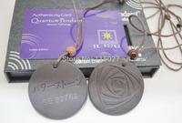 free shipping 10pcs/lot 2014 New arrival japan scalar energy pendant quantum pendant necklace rose scalar pendant