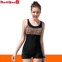 2313 leopard black plus size xxxl 4xl  swimsuit 3xl swimwear for fat women one-piece swimsuit padded swim dress 14196994289