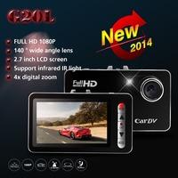 "Car DVR G20L Novatek Full HD 1080P 2.7"" G-Sensor car camera dvr Motion Detection IR Night Vision Camera Video Recorder Dash Cam"