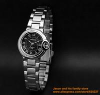 ultrathin lovers watch New style Luxury Sport Stainless Steel Date Quartz Analog white Dial women Wrist Watch Chenxi ebay black