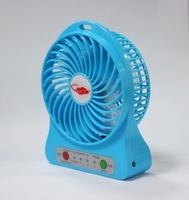 Portable Multi-functional Rechargeable Fan with LED Light and USB port for A Fresh Summer with Free Drop Shipping Suitable for