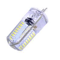 G4 7W Light LED Crystal Bulb 3014 DC 64 LEDs White Ultra Bright Silicone 220V free shipping