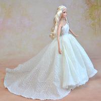 White Skirt For Barbie Doll
