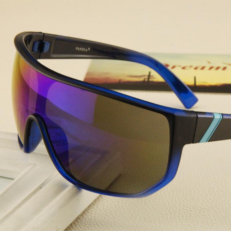 Modern sunglasses riding glasses big box super anti- reflective sunglasses wind sand goggles(China (Mainland))