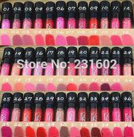 24pcs/lot matte lipstick 36 colors velvet  waterproof lip gloss colors high quality makeup