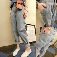 Fashion Women jeans.plus size designer Trousers.Classical Vintage Denim jeans.ladies full length pants wj1003