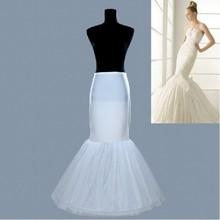 Hot sale Mermaid Petticoat/slip 1 Hoop Bone Elastic Wedding Dress Crinoline Trumpet Hot sale (China (Mainland))