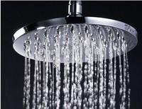 Free  Shipping - 8 inch Ruond Bath Rainfall Showr Waterfall Showr Head -4201