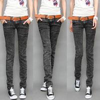 Fashion Women jeans.plus size designer Trousers.Classical Vintage Denim jeans.ladies full length pants wj1004