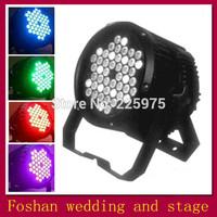 Free Shiiping  RGB DMX Stage Lights Business Lights,Led Flat Par High Power