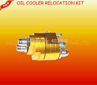 UNIVERSAL  CAR OIL FILTER RELOCATION KIT / OIL FILTER COOLER SANDWICH PLATE ADAPTER