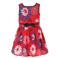 Highly recommend 2014 summer new brand kids girls dress, floral princess girl dress, designer dress girl, children dress