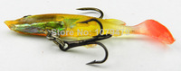 Jig Head Lure Soft Fishing Lure soft bait 6CM 4G shad soft plastic fishing lure custom soft baits saltwater soft baits 50PCS