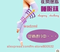 Germa sock High knee fat burning body sculpting 420D Women's Varicose Veins stovepipe socks free shipping