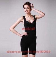 1 set discount corset tops cheap Beauty desires beauty breast waist slimming legs slimming clothes sets(vest+short patns)