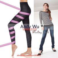 china post air free shipping Slimming pantsbody shaping calorie OFF taping beauty spats M L original color box