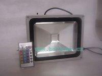 30W RGB LED Flood Light IP65 Waterproof 85-265V high power outdoor RGB Changeable Floodlight Lamp