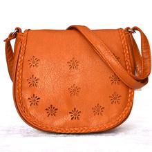 new 2014 women messenger bags  women shoulder bag   pu leather handbags ladied fashion hollow out handbag crossbody 4 colors(China (Mainland))