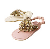 new Korean children sandals beaded sequins girls summer flip sandals