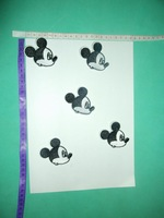 FREE SHIPPING,  Classical cartoon mouse head patch ,embroidery patch
