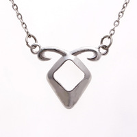 Star Love's City Of Bones Same The Power Of Angels Mortal Instruments Women Clavicle Necklace 24pcs/lot
