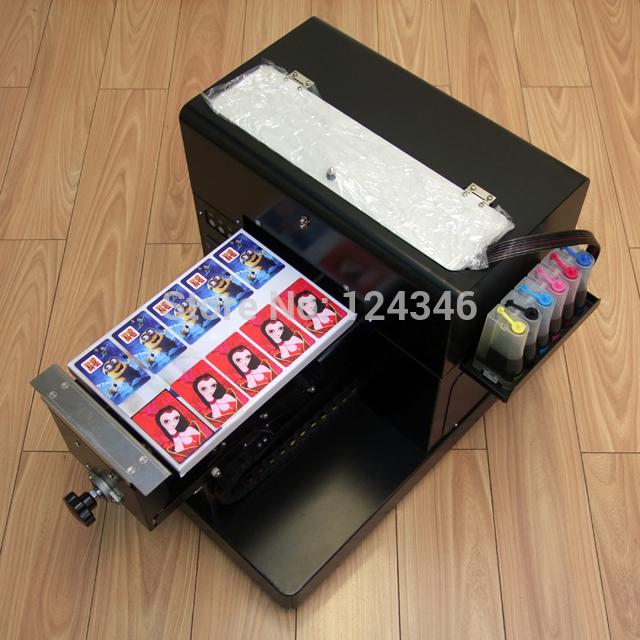 الجديد وصول حجم a4 6 طابعة ملونة بطاقة