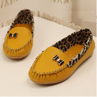 New Arrival 2014 Spring and Autumn Flats for Women Flat heel Shoes Fashion Leopard Flats Women Shoes 2014 Free Shipping