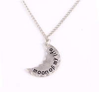 Free Shipping Moon Of My Life Pendant Unisex Necklace Game of Thrones jewelry Wholesale 24pcs/lot 345#