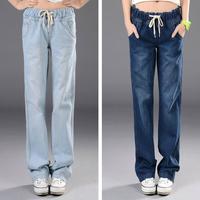 Fashion Women jeans.plus size designer Trousers.Classical Vintage Denim jeans.ladies full length pants wj1018