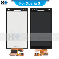 Original Full LCD Display For Sony Xperia S/LT26i/Nozomi/ARC HD Digitizer with Touch Screen Assembly 10pcs/lot DHL Free Shipping