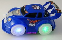 2014 new Children's toys, electric toy car with universal intelligent toy car light musicXC124