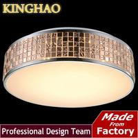 KINGHAO Modern fashion square round Mosaic bedroom lights LED sitting room lights restaurant lighting lamps and lanterns KL002