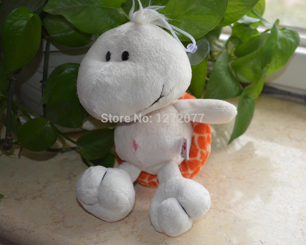 NICI 20cm Orange Color Tortoise Stuffed Plush Toy, Baby Kids Doll Gift Free Shipping(China (Mainland))
