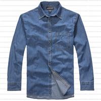 Free shipping plus size brand XXXL 4xl 6xl 8XL mens clothing jeans shirt t-shirt fat man casual xxxxl denim military 150cm bust