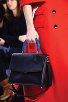 Boss bucket bag ostrich grain handbag women's female genuine leather bag bucket bag handbag new 2014 women's famous brands