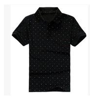 Free shipping 6xl 7xl 8xl 5XL plus size dot black grey xxxl clothes mens fashion t-shirts t shirt big casual tshirt famous brand