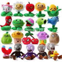 20pcs/set Plants vs zombies Plush Toys, Game Dolls, PVZ 13-28cm High For Kids Toys, toys for children