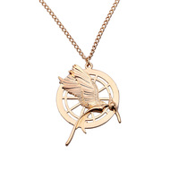 The Hunger Games Antique Pendant Inspired Pendant  Film Necklace New Style High Quality Wholesale 24pcs/lot