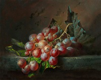 Free shipping  classic painting grapes  printed oil painting on canvas  BMF1406A