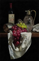 Free shipping  wine &glasses  for living roomprinted oil painting on canvas  BMF1402A