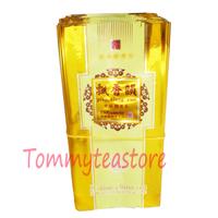 Free shipping 500 pcs Piao Xiang Yun golden colored shining tea packaging bags for tea vacuum pack