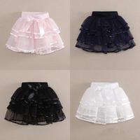 Free Shipping New 2014 Girl's Fashion Tutu Skirt 3 Color Petti Tutu Short Skirt Summer Short Skirt For Girls Hot Sale
