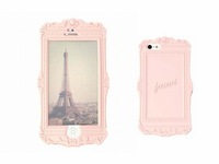 Unique Design Retro 3D Picture Photo Frame Case Silicone Cover for Iphone 5 5g 5S
