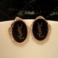 Fashion 2 ruslana korshunova luxury baroque royal vintage stud earring earrings Free Shipping