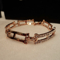 H genuine gold hand female Bracelet Aristocratic temperament jewelry Major suit fashion Free Shipping
