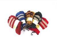 Winter new retro women coarse yarn weaving linen pattern super warm women wool socks