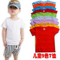 Min Qty any 2pcs in the shop S~XXXL kids tops tees child  t shirt boys girls pullovers painting children short sleeve T-shirts