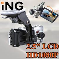 1920*1080P HD Car cam DVR, F900 Novatek Car record, black box, 2.5 lcd+IR Night Vision+G-Sensor+Motion Detection
