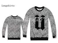 2014 Time-limited Rushed Regular Sweatshirt Men Moleton Masculino Moletons Unkut Men's Hip Hop Brand Shirts Full Sleeve Hoody