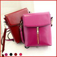 2014 Candy Colors Women Messenger Bags Small Zipper Solid Designer Handbag PU Leather Fashion Casual Ladies Shoulder Bag Phone